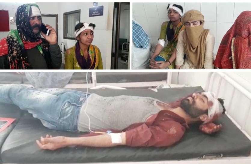 भूमि विवाद को लेकर हुआ खूनी संघर्ष, एक दर्जन लोग घायल, चार गिरफ्तार