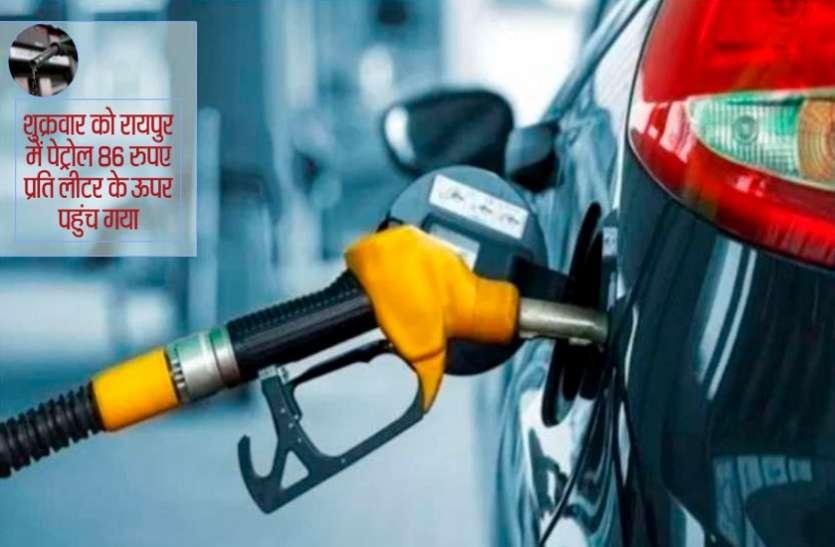 क्रूड की कीमतों में आ रही तेजी से 100 रुपए के करीब पहुंचीं पेट्रोल-डीजल की कीमतें
