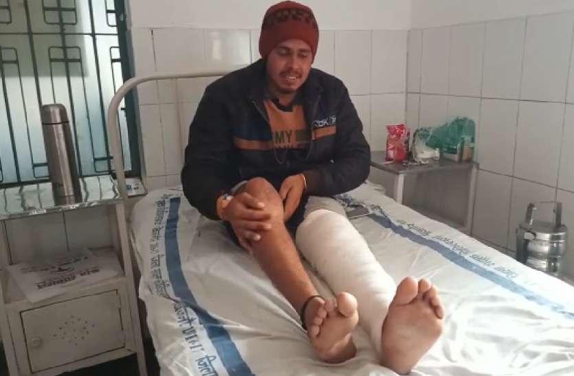 थाने में थर्ड डिग्री टॉर्चर देकर तोड़ा बेकसूर युवक का पैर, दरोगा समेत तीन पुलिसकर्मी सस्पेंड