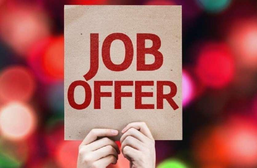 नौकरी : 240 पदों के लिए रायपुर में प्लेसमेंट कैम्प