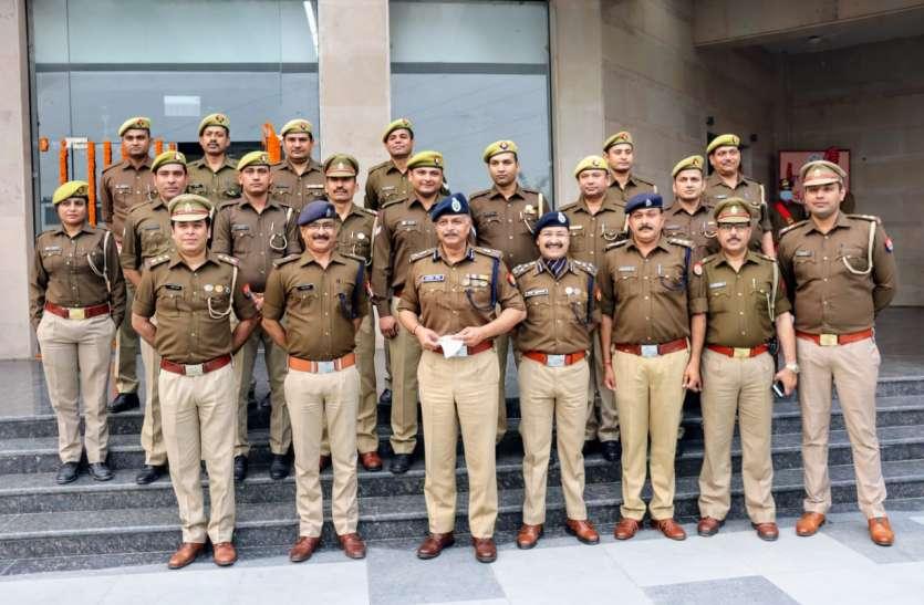 Kidnap किए गए DRDOके वैज्ञानिक कोसकुशल बरामद करने पर पुलिस टीम सम्मानित