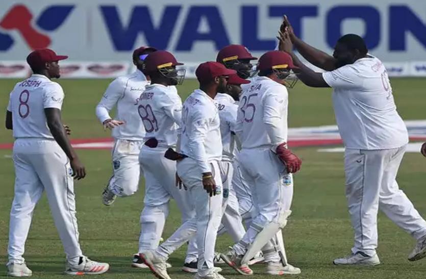 ढाका टेस्ट : विंडीज ने बांग्लादेश को हराकर 2-0 से किया क्लीन स्वीप, वनडे सीरीज में मिली हार का लिया बदला