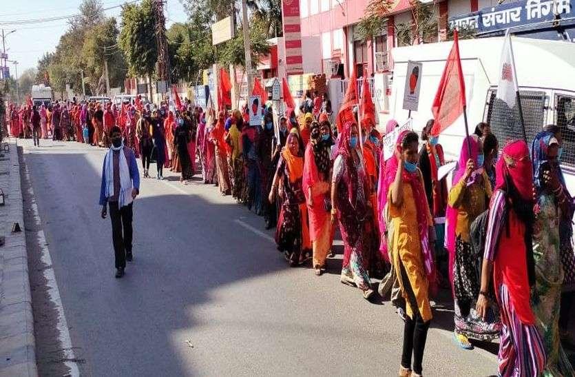 न्यूनतम व मनरेगा मजदूरी छह सौ रुपए प्रतिदिन मिले