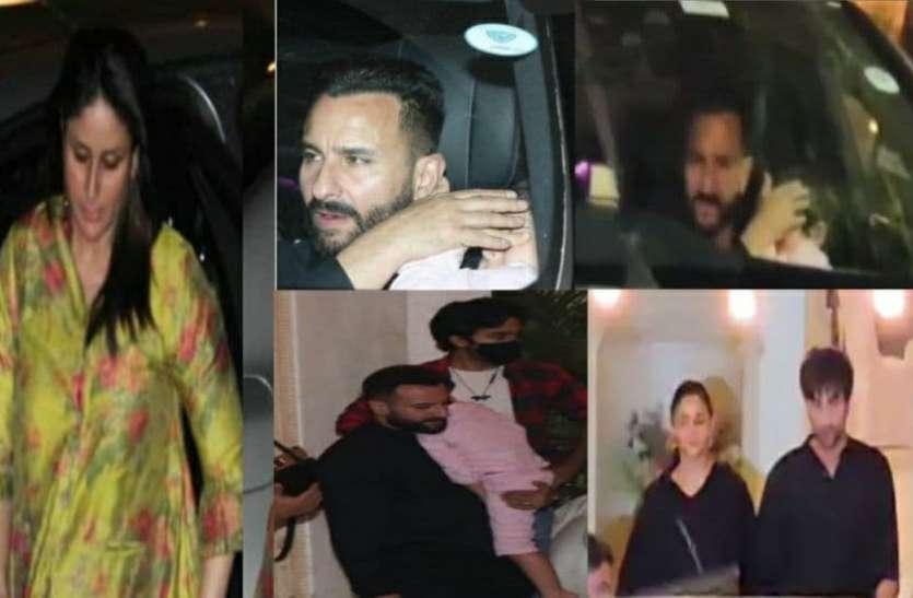 Randhir Kapoor के बर्थडे सेलिब्रेशन में इकट्ठा हुआ कपूर परिवार, पैपराजी की प्लैशलाइट से परेशान हुए तैमूर अली खान