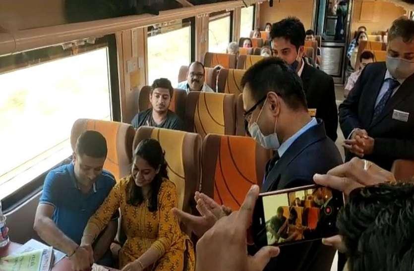 मुंबई-अहमदाबाद तेजस को 29 मार्च तक अंधेरी स्टेशन पर अस्थायी ठहराव
