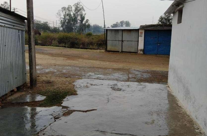 दिनभर झमाझम बारिश, अमरकंटक और आसपास के ग्रामीण अंचलों में गिरे ओले