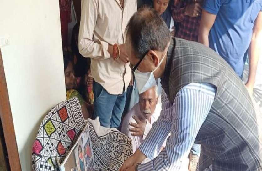 Sidhi bus accident पीड़ितों के घर पहुंचे CM Shivraj Chauhan