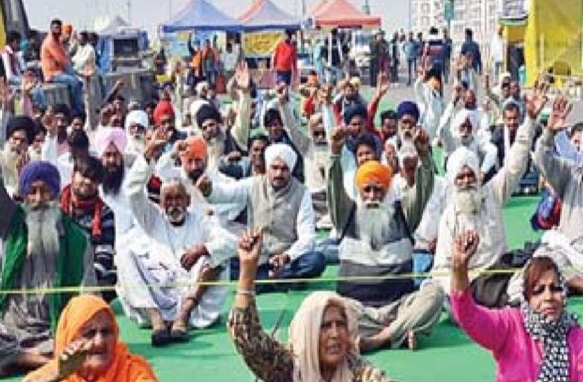 Farmers Protest: गर्मी से बचने के लिए किसानों ने की अस्थाई बिजली कनेक्शन की मांग