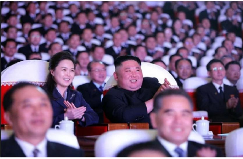 Kim Jong Un की पत्नी एक साल बाद आईं नजर, रहस्यमय ढंग से हो गईं थीं लापता