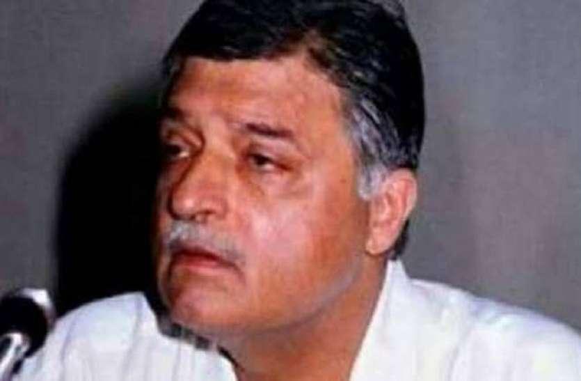 राजीव गांधी के करीबी पूर्व केंदीय मंत्री सतीश शर्मा नहीं रहे, अमेठी से रह चुके हैं सांसद