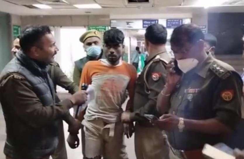 एनकाउंटर के बाद इलाज को लाया गया बदमाश अस्पताल में ऐसी जगह छिपा, 6 घंटे तक ढूंढती रही पुलिस
