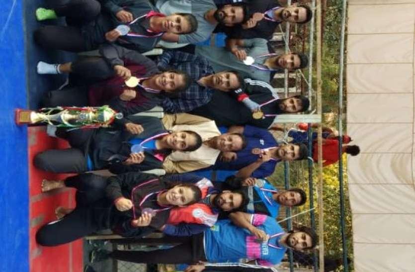 SPORTS---राज्य स्तरीय सीनियर वुशु प्रतियोगिता में जोधपुर दूसरे स्थान पर