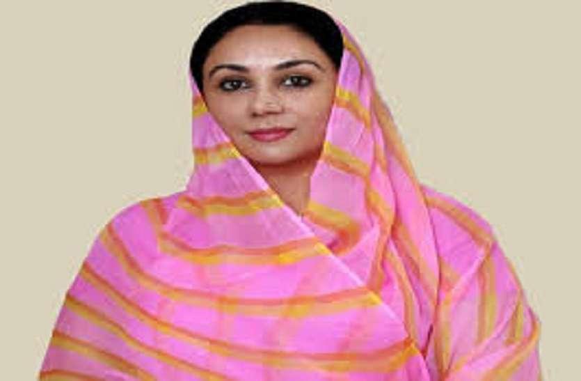 राजसमंद में कांग्रेस का विकास संवाद नहीं, जनता को मूर्ख बनाओ कार्यक्रम था-दीया कुमारी