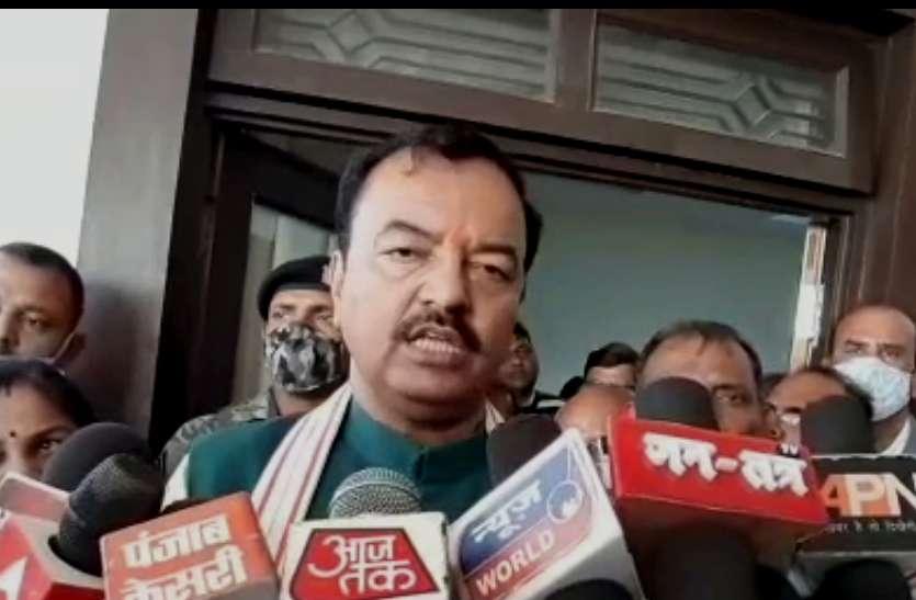 डिप्टी सीएम केशव प्रसाद माैर्य बाेले, जिला पंचायत चुनाव में भाजपा उतारेगी अधिकृत प्रत्याशी