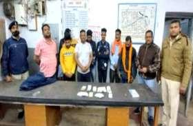 पुलिस पकड़ में आते ही जुआरियों ने नाले में फेंक दिए हजारों रुपए, कुछ ने बाथरूम की फ्लश चालू कर बहाया नोट