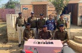 पुलिस ने 8 लोगों को जुआ खेलते किया गिरफ्तार, सामान भी किया जब्त