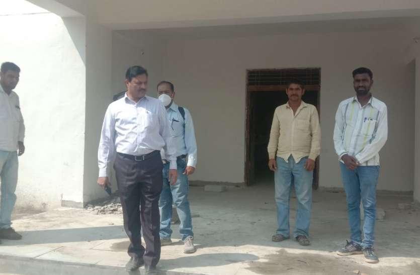 संभागीय इंजीनियर ने किया छात्रावासों की बिल्डिंग का निरीक्षण,मिली खामियां