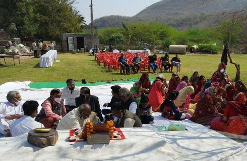 पारंपरिक उल्लास से मनाया दधीमति प्राकट्य उत्सव