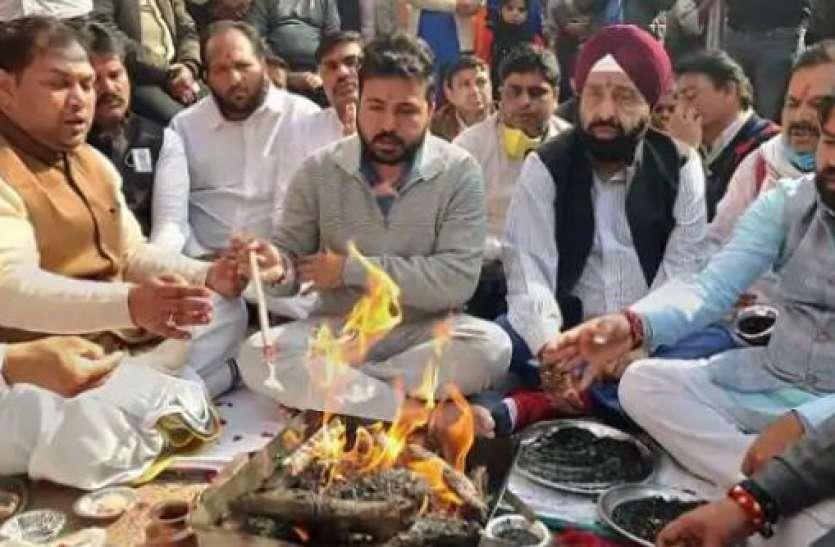 चांदनी चौक में नेताओं का 'भक्ति' राग, BJP के बाद अब AAP ने बजरंगबली को मनाने के लिए की पूजा