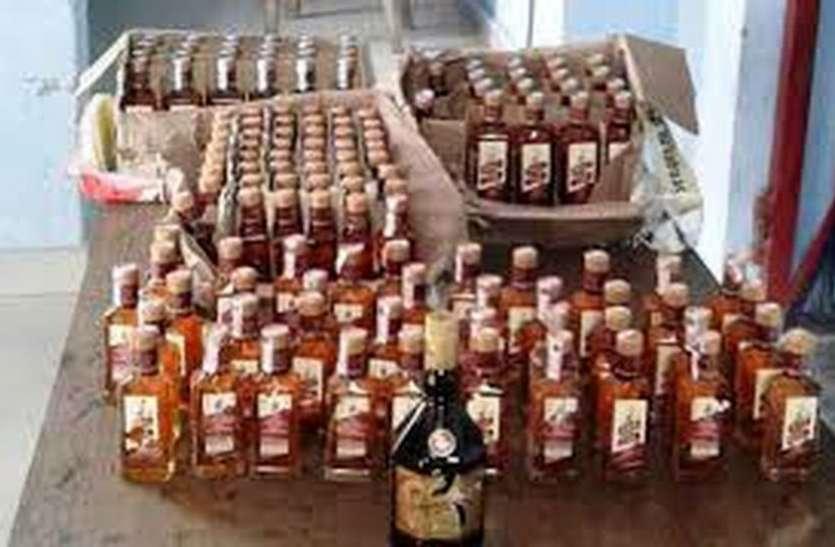 भाजपा नेता का पति 152 बोतल शराब के साथ गिरफ्तार ! पुलिस मौन