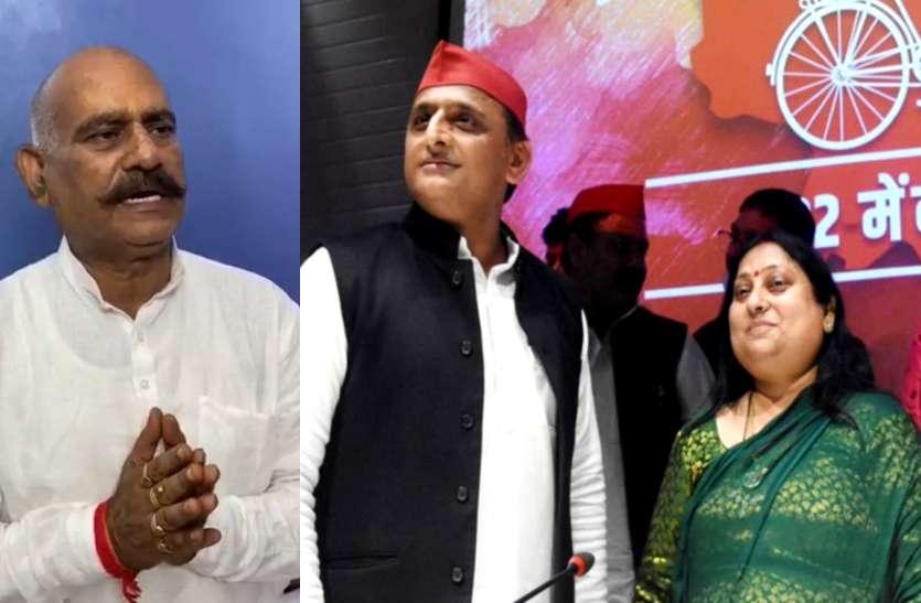 समाजवादी पार्टी में विजय मिश्रा की बेटी सीमा मिश्रा की वापसी, 2017 में सपा से निकाले गए थे बाहुबली विधायक