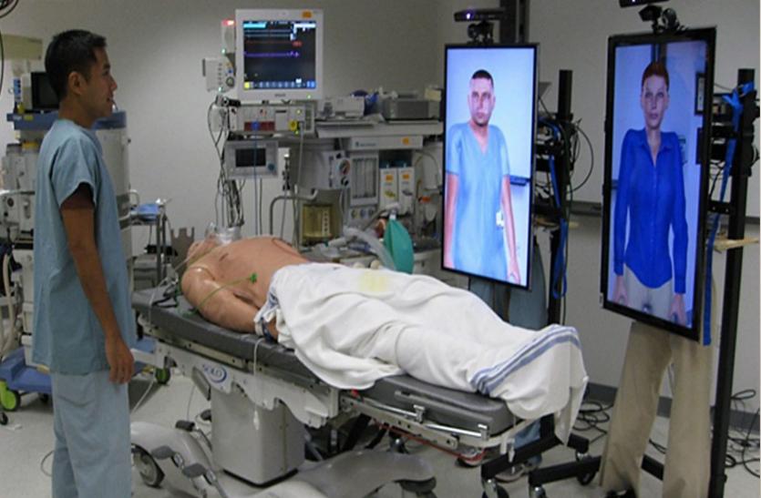 नवाचार: मददगार साबित हो रहे हैं एआइ-प्रशिक्षित 'वर्चुअल मरीज'