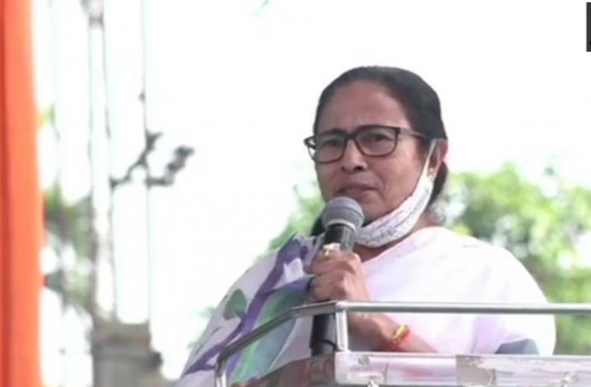 चुनावी घमासान के बीच ममता बनर्जी का नया नारा, फोन कॉल आने पर कहें 'जॉय बांग्ला'