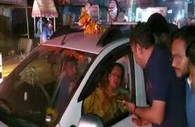 साध्वी प्राची ने पुलिस की कार्यशैली पर खड़े किये सवाल, देखें वीडियो