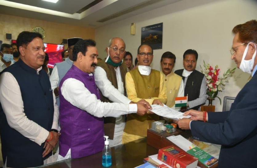 गिरीश गौतम होंगे अगले स्पीकर: चौथी बार बनें है विधायक, सीएम की मौजूदगी में दाखिल किया नामांकन