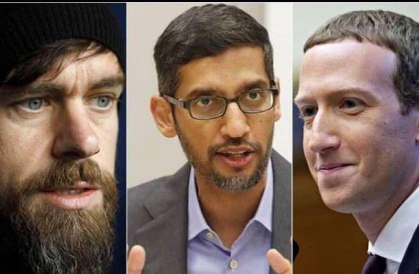 अमरीका ने फेसबुक, गूगल और ट्विटर के सीईओ को हाजिर होने को कहा, जुकरबर्ग से परेशान मॉरिसन को मोदी से चाहिए मदद