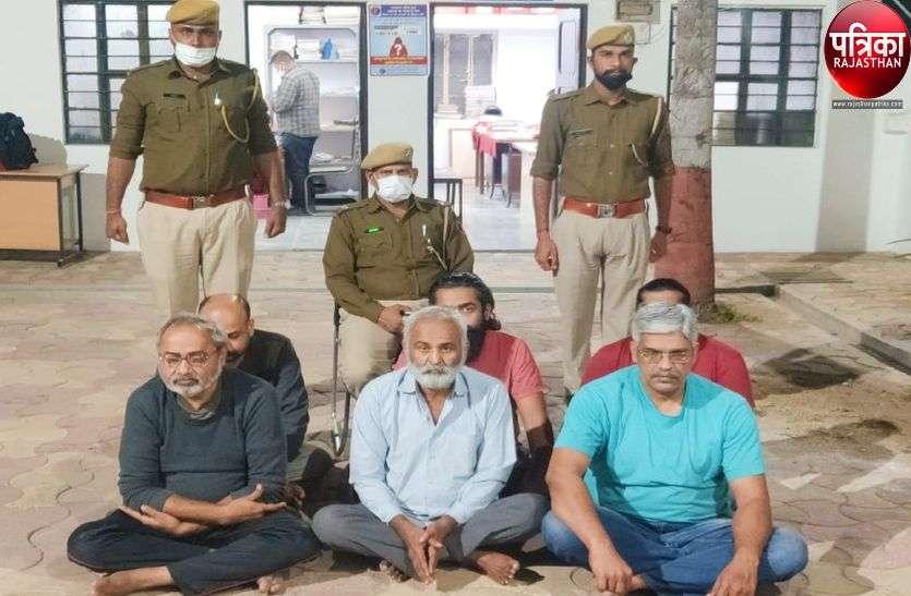 आदर्श घोटाला : आठ आरोपियों को जोधपुर जेल से पाली लाए प्रोडक्शन वारंट पर