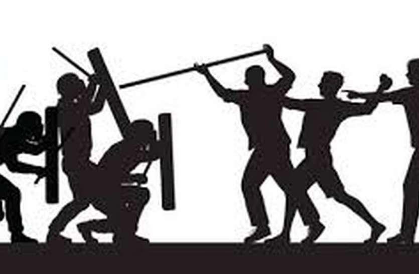 बीटीएस कार्यकर्ताओं पर हमला