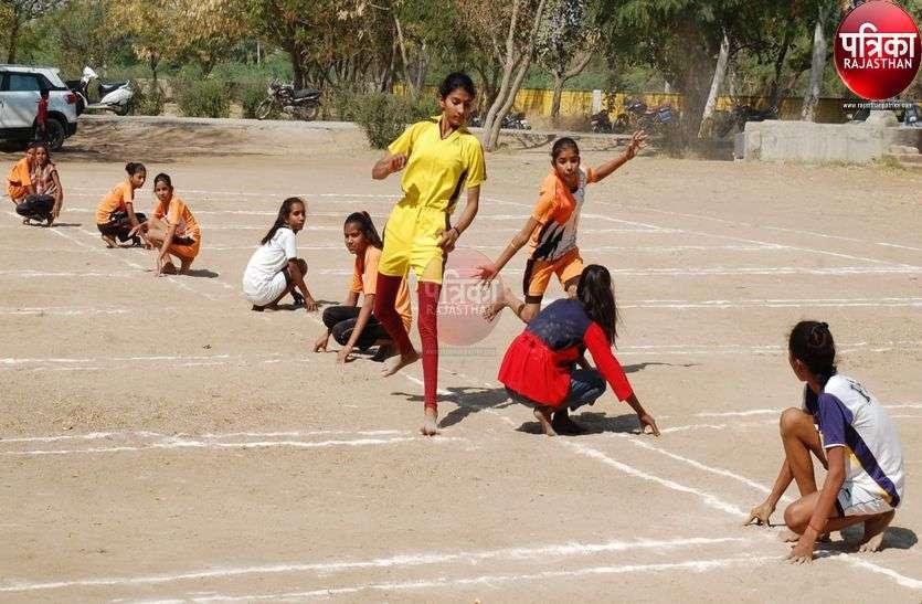 खो-खो प्रतियोगिता में ग्रामीण प्रतिभाओं ने दिखाया अपना कौशल