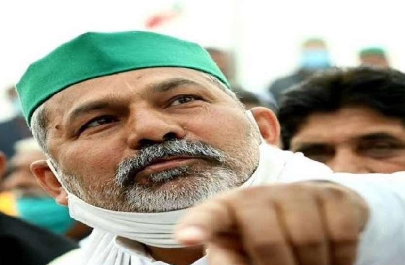 किसान नेता राकेश टिकैत का पांच दिन प्रदेश में डेरा, आज नोहर में किसान महापंचायत