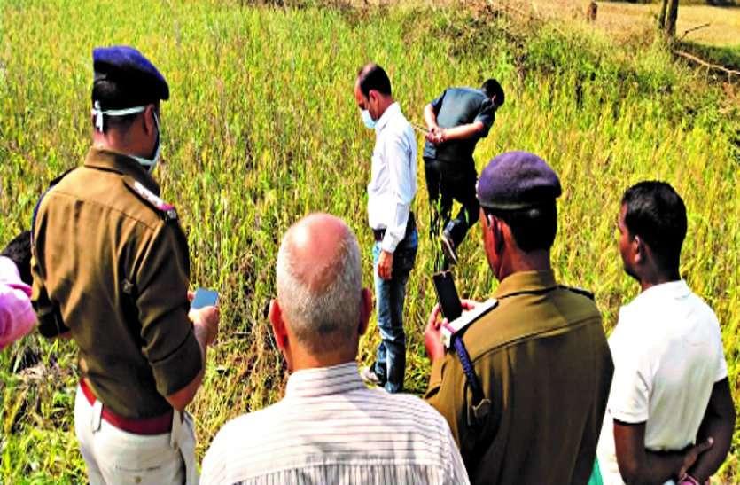 गेहूं फसल की रखवाली करने गए युवक की धारदार हथियार से हत्या, खेत में खून से लथपथ मिली लाश