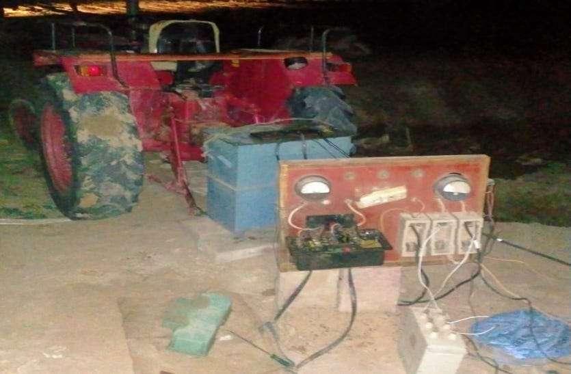 11 केवी सिंगल फेज से अवैध ट्रांसफॉर्मर लगाकर बिजली चोरी, जानिए पूरी खबर