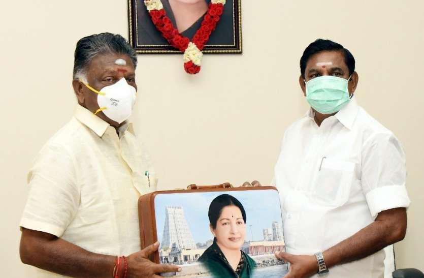कोरोना से लडऩे में तमिलनाडु सरकार ने खर्च किए 13,352 करोड रुपए: ओ. पन्नीरसेल्वम