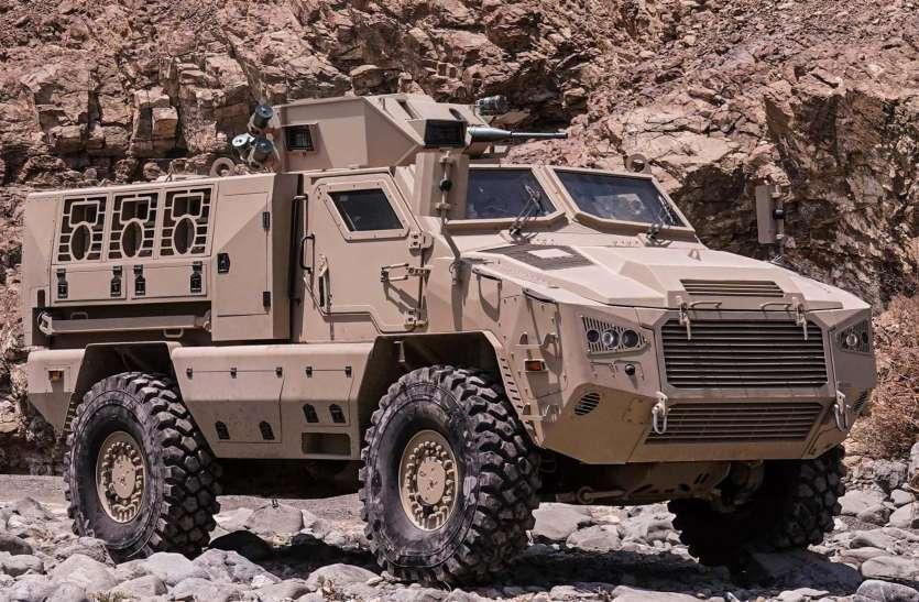 भारतीय सेना का नया 'अजेय' बख्तरबंद, 50 किलो टीएनटी भी कुछ न बिगाड़ पाएगा