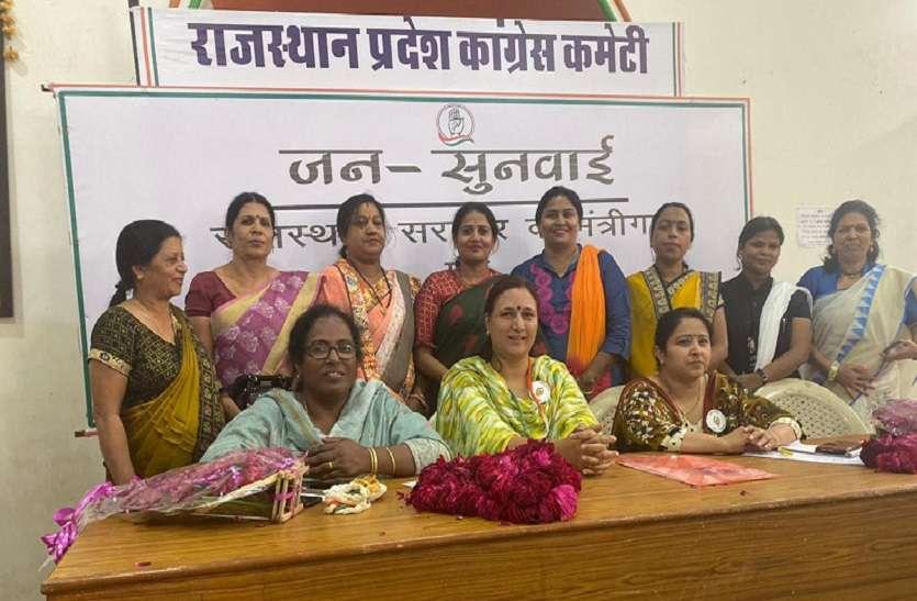 किसानों के सम्मान में महिला कांग्रेस का शाहजहांपुर कूच, 28 फरवरी को महिला कांग्रेस का धरना