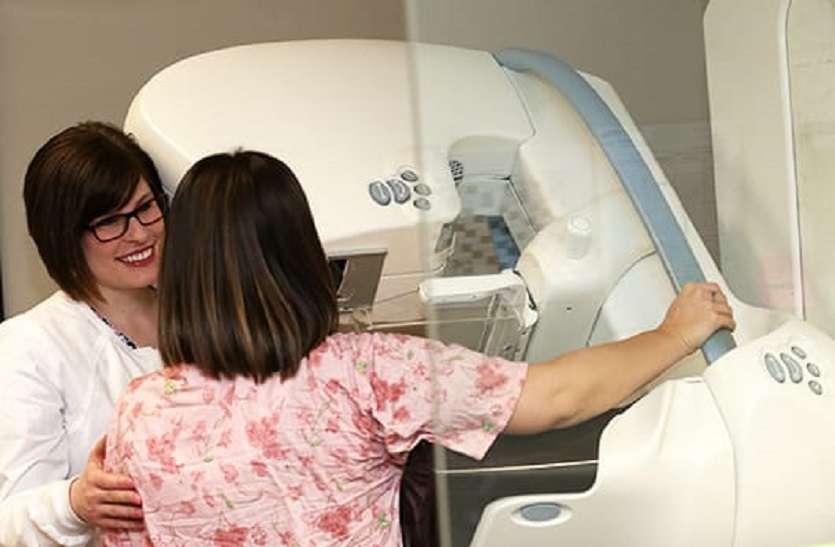 मेमोग्राफी: स्तन कैंसर की पहचान बाहरी लक्षण दिखने से पहले भी संभव