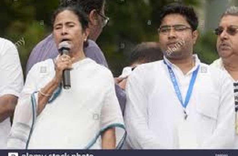 Mamta Banerjee's family and  Coal Scam:  सीबीआई टीम से पहले ममता बनर्जी कोयला घोटाले की आरोपी अपने सांसद भजीते की पत्नी से मिली