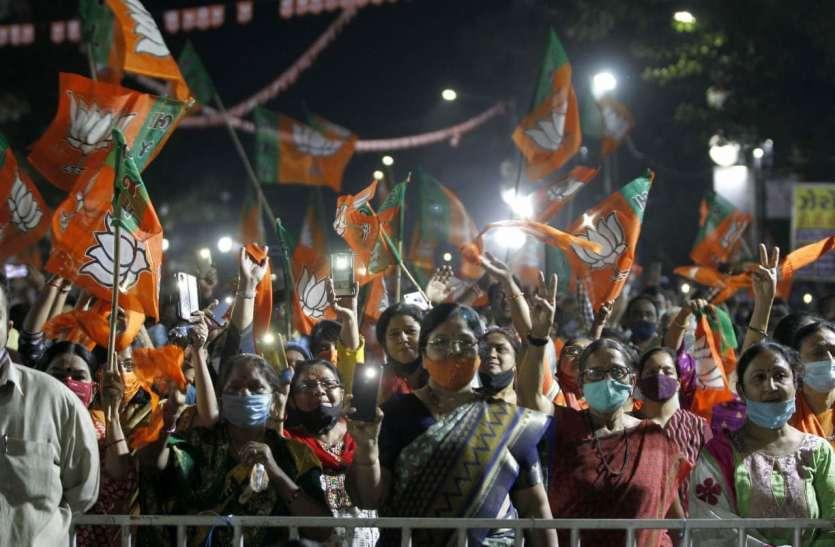 Gujarat: छह महानगरपालिकाओं के चुनावों में भाजपा  को तीन चौथाई बहुमत