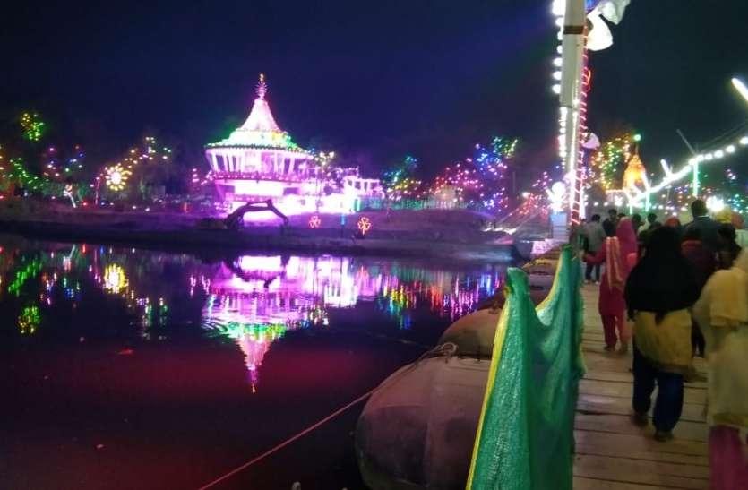 Kumbh-2021, दिव्य कुंभ की भव्य लाइटिंग, नजारे मनमोहक