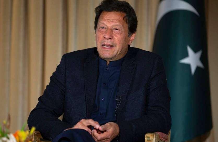 पाक PM इमरान खान श्रीलंका के दौरे पर, कश्मीर को लेकर कही ये बात