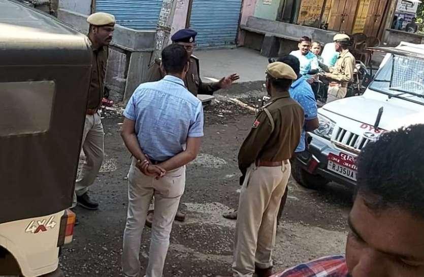 पीपलखूंट में दो दुकानों में चोरी का प्रयास