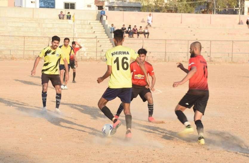 मारवाड़ क्लब ने डीएफए सीकर को हराया