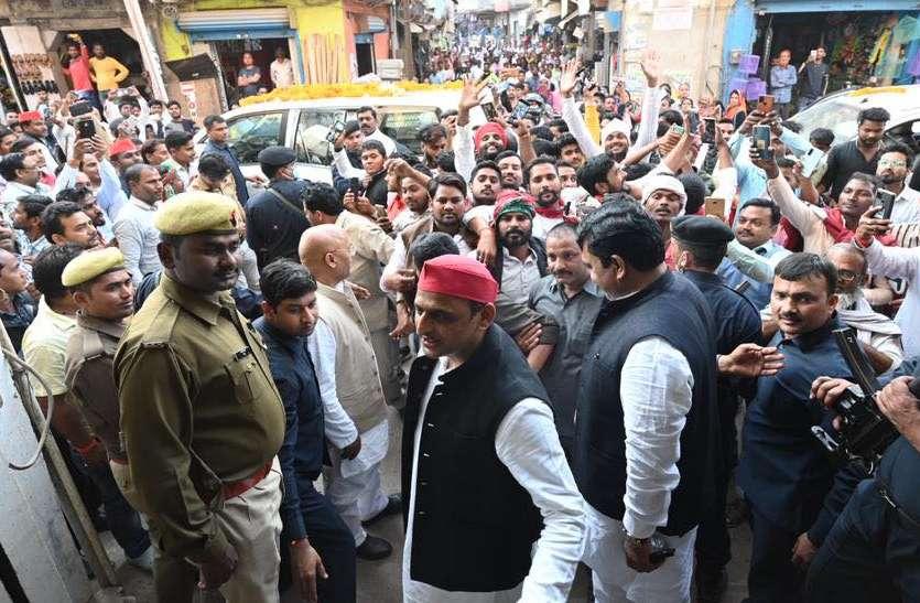 पूर्वांचल दौरे पर अखिलेश यादव, चुनाव तैयारियों को देंगे धार, जौनपुर में बोले किसी काम की नहीं सरकार