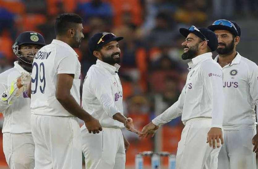 Ind vs Eng : टीम इंडिया ने रचा नया इतिहास, तीसरा टेस्ट 10 विकेट से जीता, सीरीज में बनाई 2-1 की बढ़त