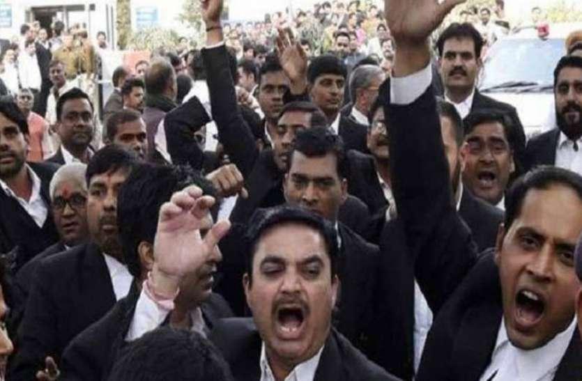 अवध बार के वकीलों की हड़ताल बढ़ी, 26 को भी नहीं करेंगे काम