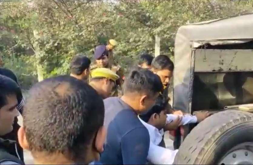 मॉर्निंग वॉक पर निकलने वाले लोगों को लूटने वाले बदमाश पुलिस एनकाउंटर में पस्त